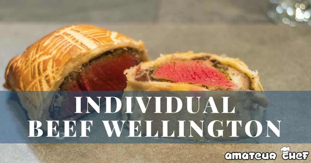 Featured image for Individual beef wellington recipe | AmateurChef.co.uk