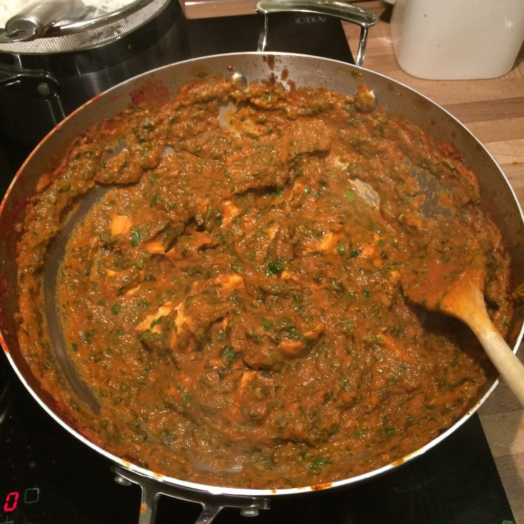 Palak Chicken Image 4