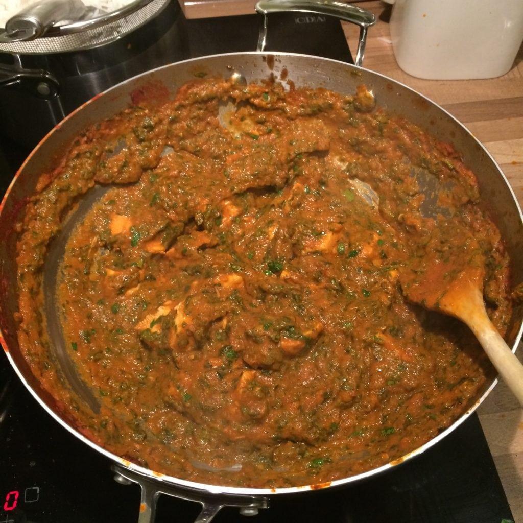 Palak Chicken Image 4