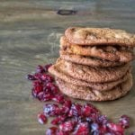 Cranberry Cookies - Quick and easy cookie recipe for chewy cookies, ideal snack or dessert.   AmateurChef.co.uk