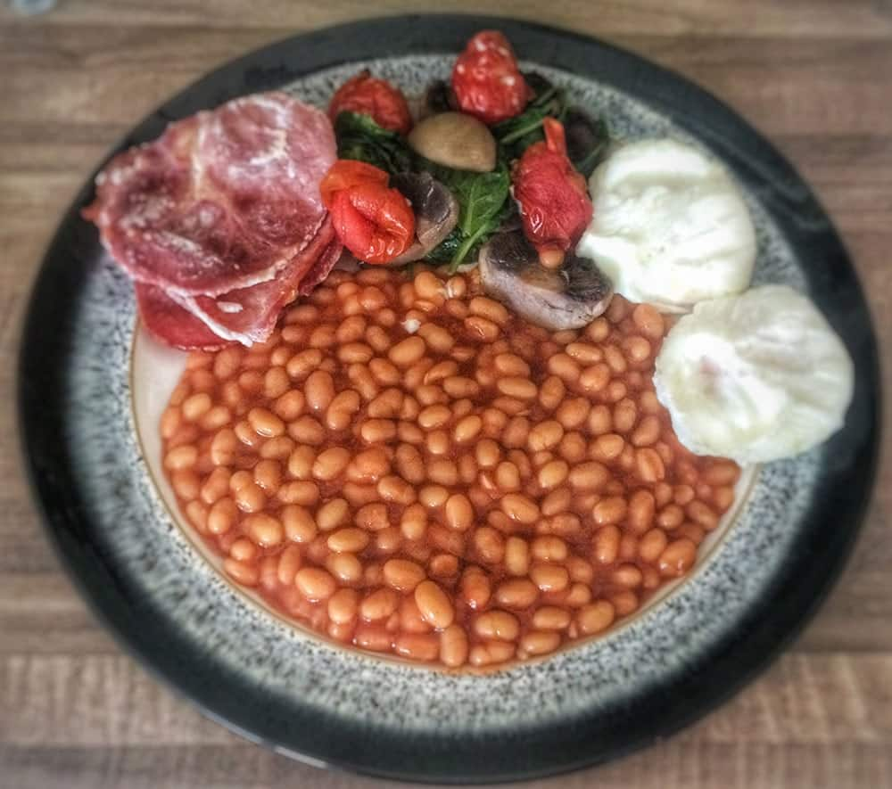 Slimming World Full English Breakfast | Amateur Chef