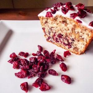 Cranberry & Walnut Cake
