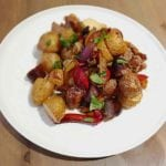 Easy Sausage and Potato Bake - Quick and easy main recipe that also tastes incredible. This Sausage and Potato Bake is a perfect alternative to bangers and mash! - It tastes amazing | AmateurChef.co.uk