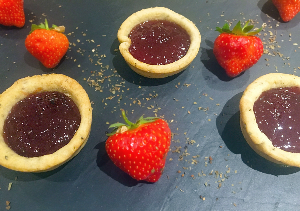 Easy Jam Tarts Recipe - This quick and easy jam tart recipe is perfect for a bit of nostalgia. With the addition of basil in the pastry it adds an additional subtle flavour - http://www.amateurchef.co.uk
