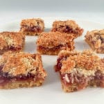 This Raspberry Coconut Slice Recipe is perfect for a quick and easy snack. The coconut slice taste excellent and can be made with any jam flavour...