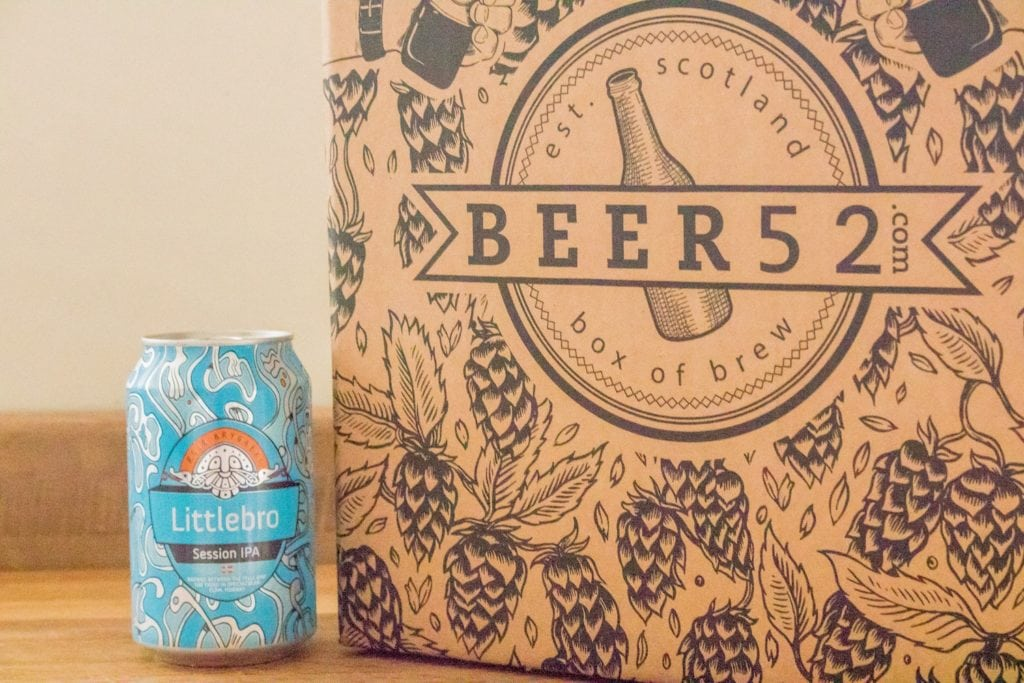 Beer52 Review - Aegir Littlebro IPA - ABV: 4.7%