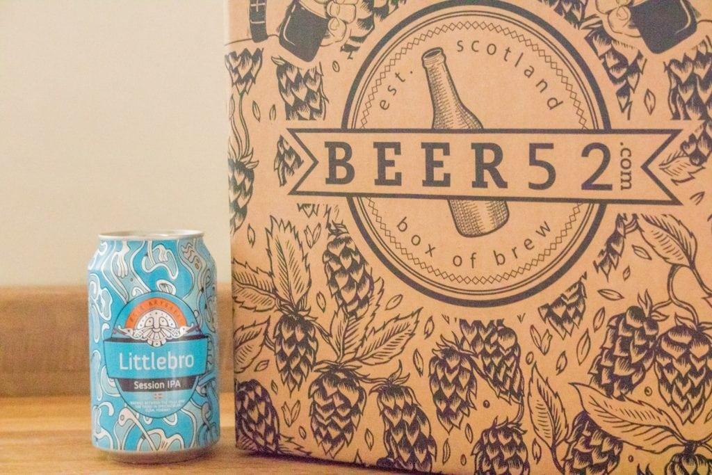 Beer52 Review - Aegir Littlebro IPA - ABV: 4.7%