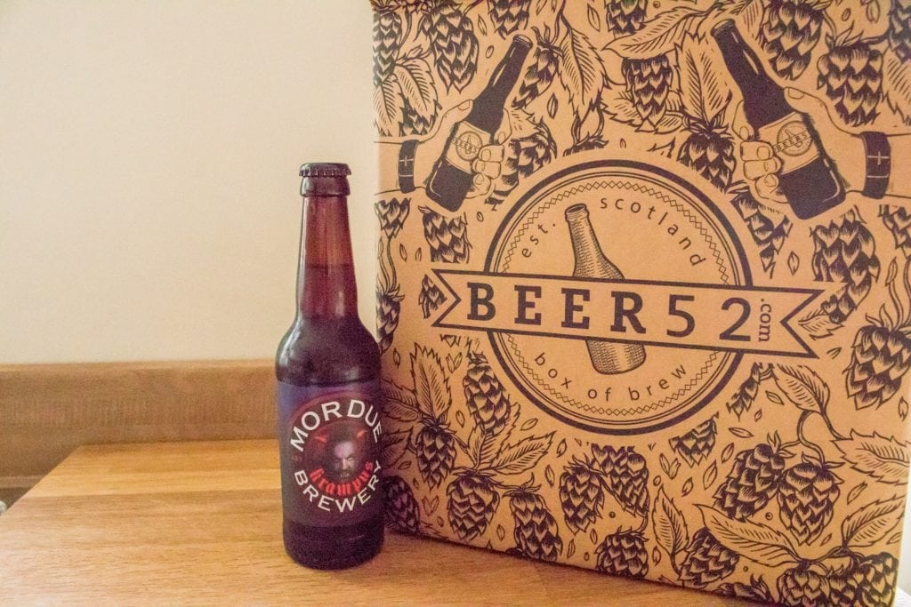 Beer52 Review Mordue Brewery Krampus - ABV: 5.5%