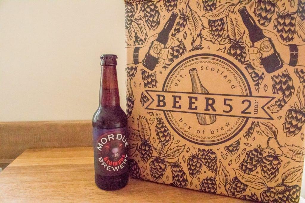 Beer52 Review Mordue Brewery Krampus - ABV: 5.5%