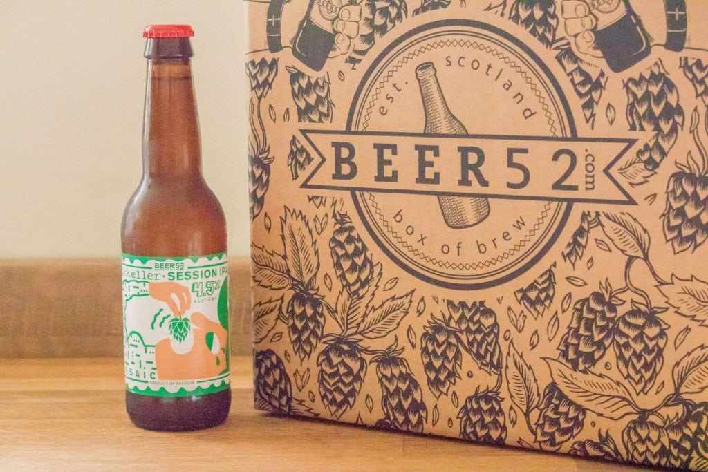 Beer52 Review Mikkeller Session IPA Mosaic - ABV: 4.5%