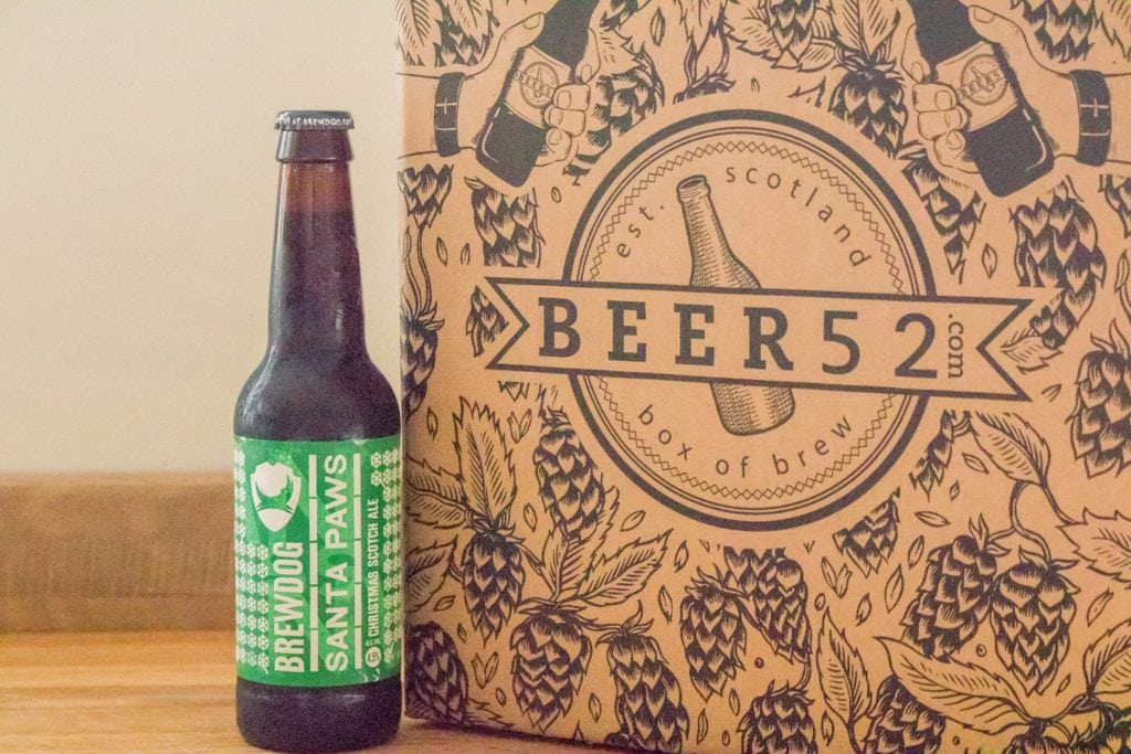 Beer52 Review Brewdog Santa Paws - ABV: 4.5%