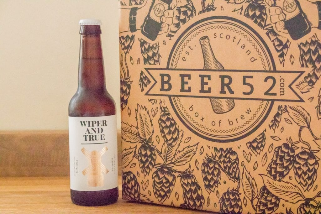 Beer52 Review Wiper And True Mimosa - ABV: 3.6%