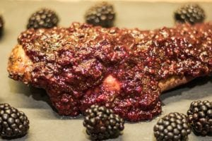 Blackberry & Balsamic Pork Tenderloin