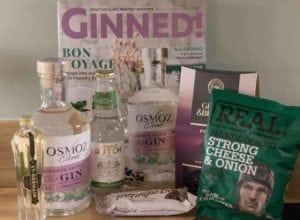 Delivery Of Craft Gin Club box in July | AmateurChef.co.uk