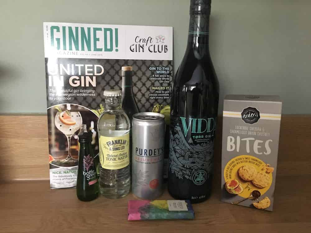 June delivery of Craft Gin Club - AmateurChef.co.uk